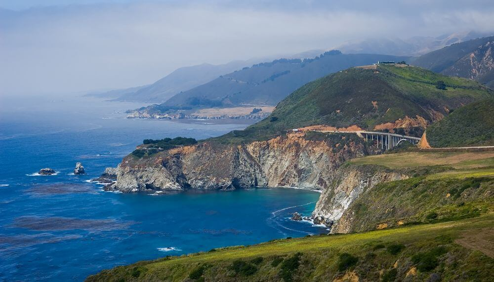 big sur sightseeing california-Best Places to Visit During Your Short Trip in The US - ContentRaj