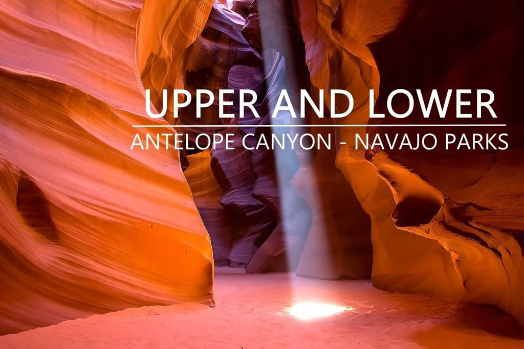 upper and lower antelope canyon-Best Places to Visit During Your Short Trip in The US - ContentRaj